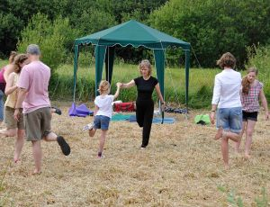 Magor Marsh_Open Day_2013sianyoga